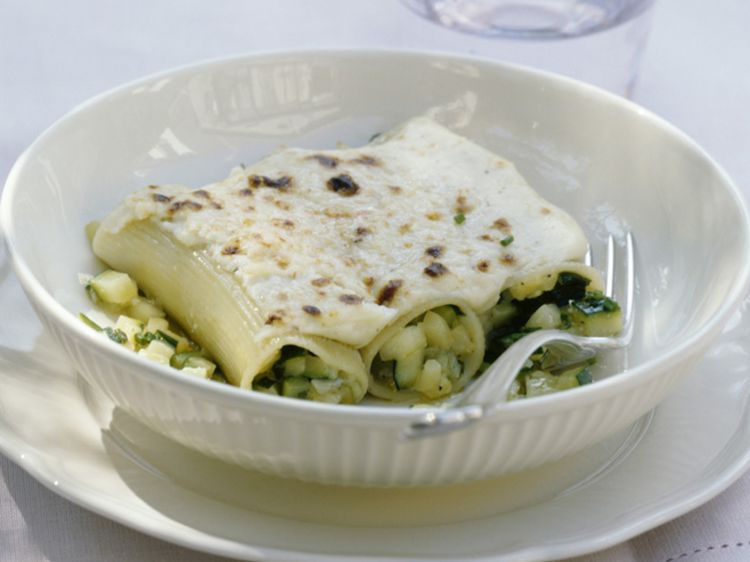 Cannellonis aux Courgettes