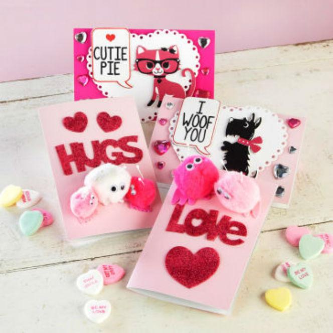 Cartes avec Citations D'enfants pour la Saint-Valentin