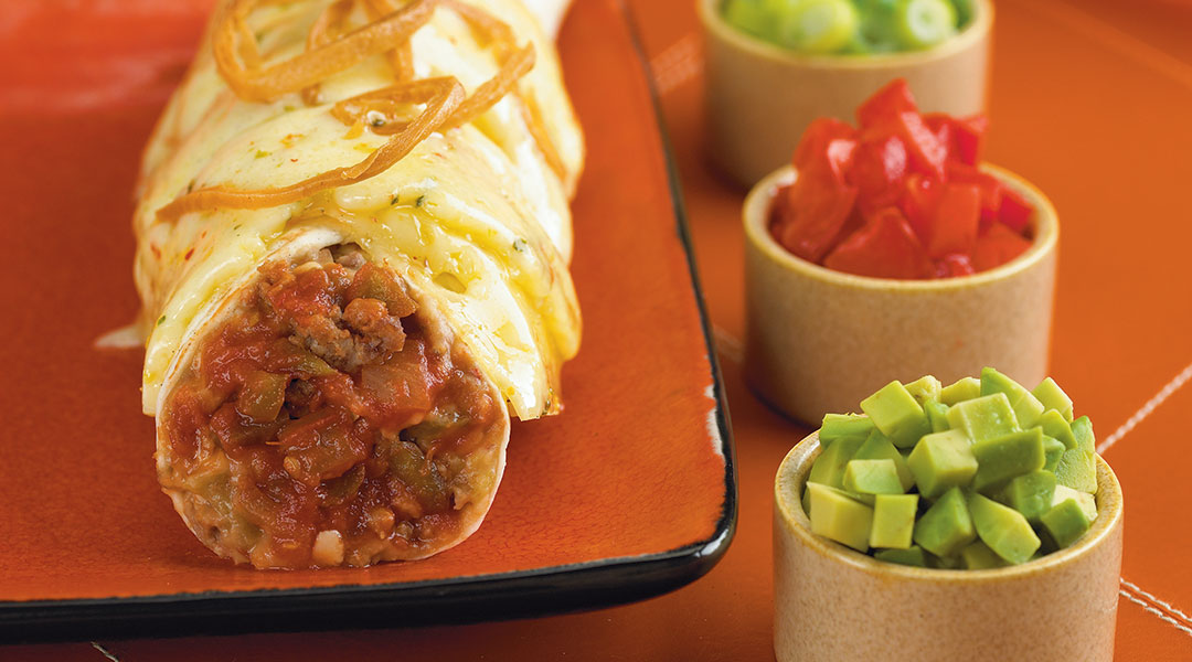 Photo Recette Casserole Burrito avec Mozzarella Tre Stelle®