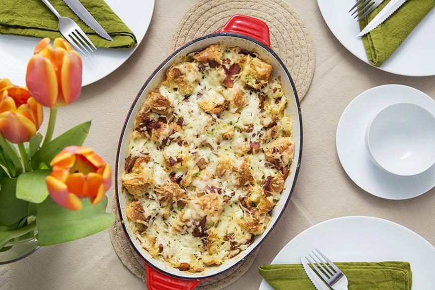 Photo Recette Casserole de Croissants Dorés