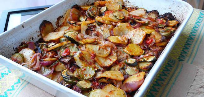 Photo Recette Casserole de Patates Grecques