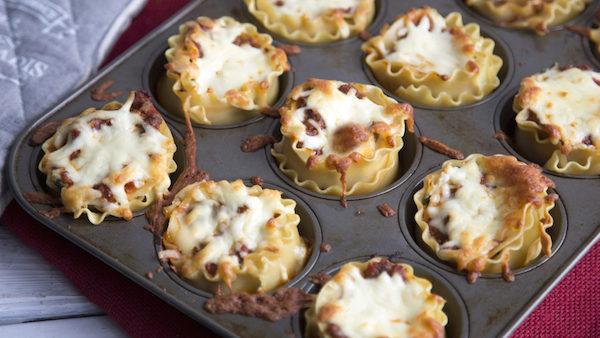 Lasagnes Muffins Facile à Faire