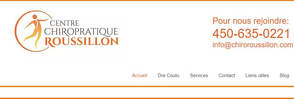 Centre Chiropratique Roussillon en Ligne