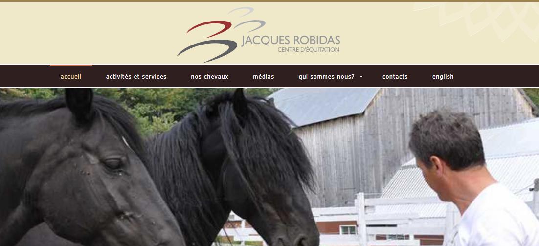 Centre D'Équitation Jacques Robidas en Ligne