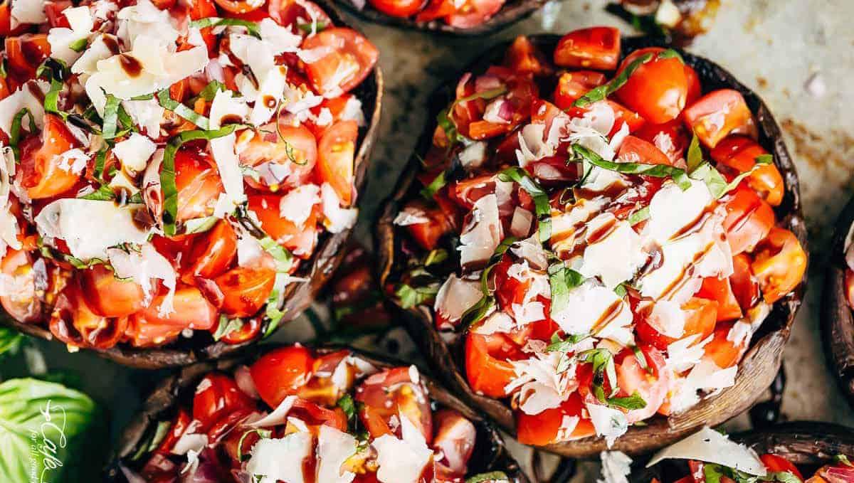 Photo Recette Champignons Portobello Grillés au Beurre à L'ail
