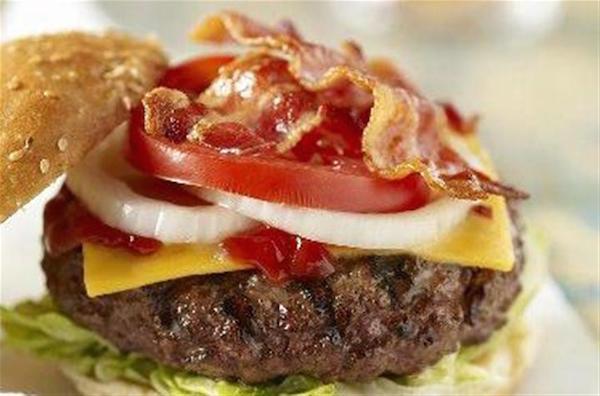 Cheeseburgers au Bacon