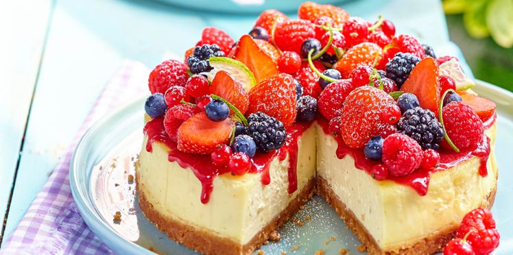 Photo Recette Cheesecake aux Fruits Rouges