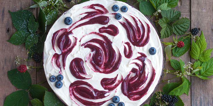 Cheesecake Végétal aux Fruits Rouges