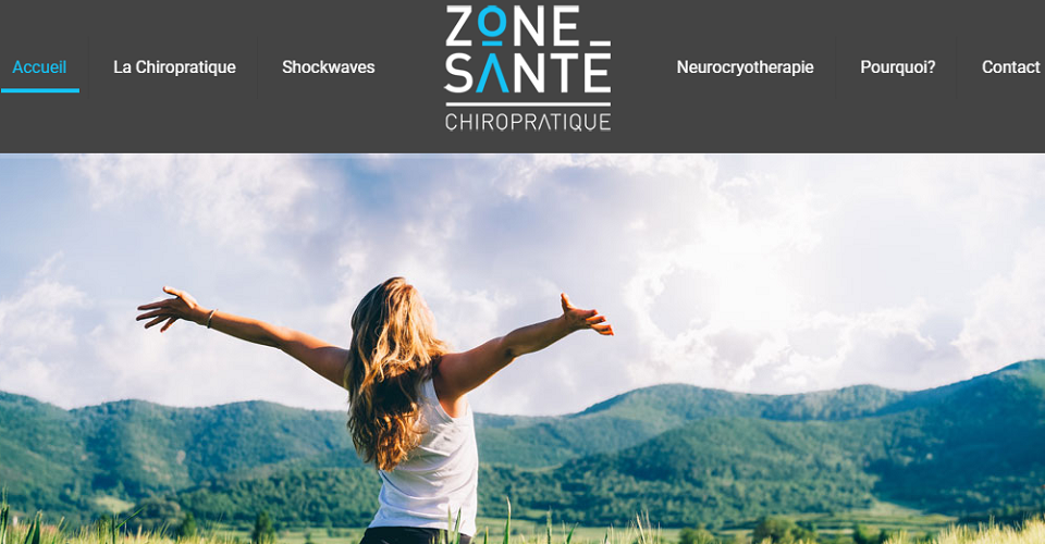 Chiropratique Zone Santé en Ligne