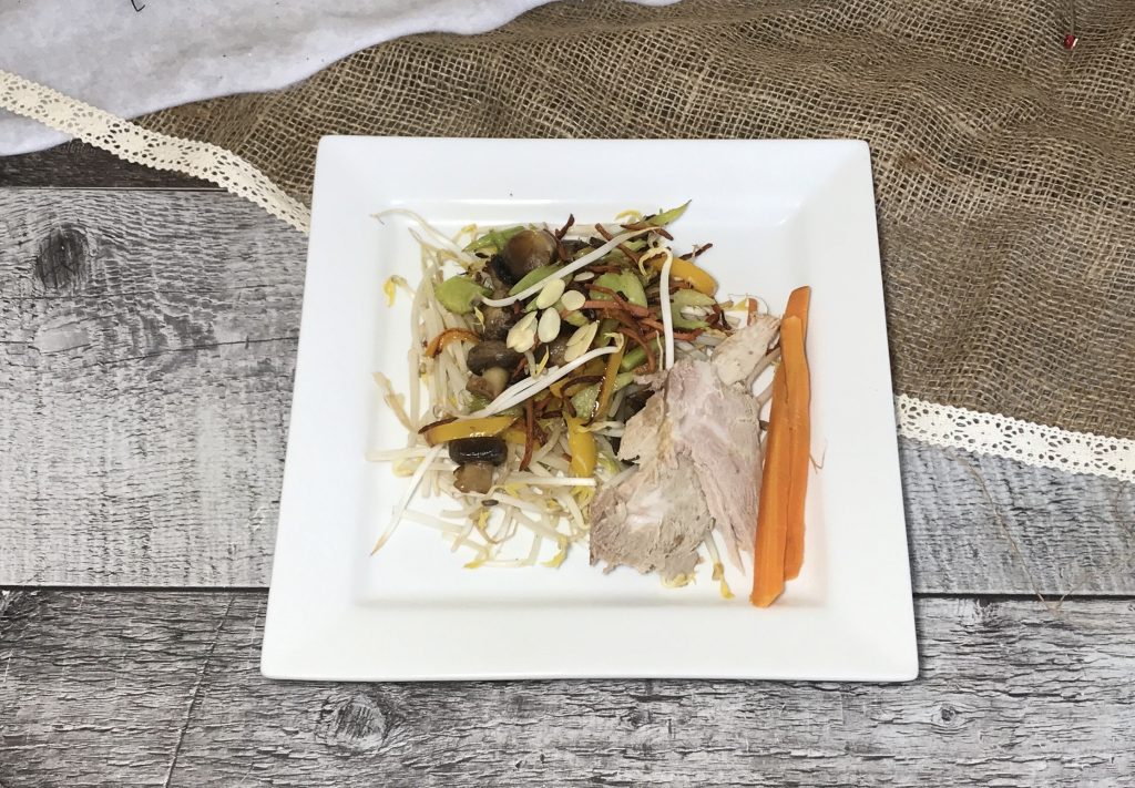 Chop Suey et Porc