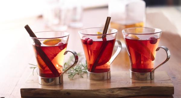 Cidre Chaud de Pommes et Canneberges