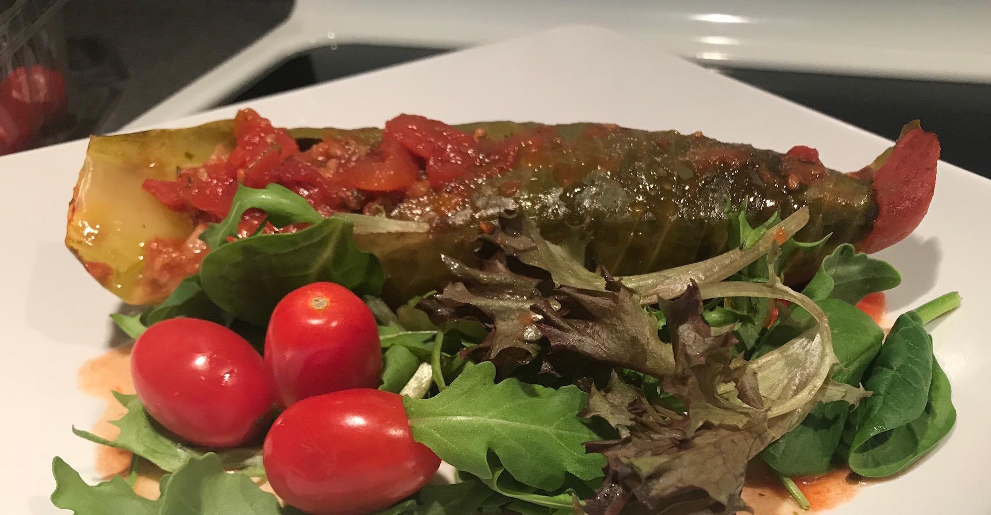 Photo Recette Cigares au Chou Viande et Légumes