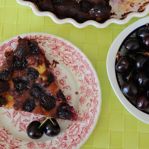 Photo Recette Clafoutis aux Cerises Sans Gluten