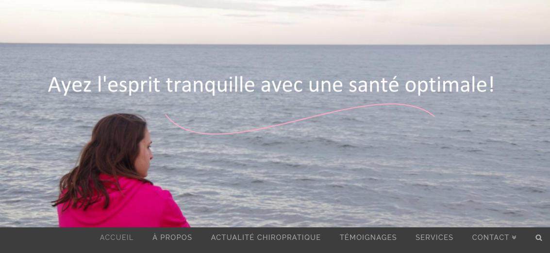 Clinique Chiropratique Cap-Rouge en Ligne