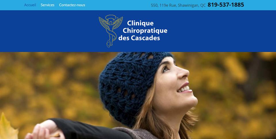 Clinique Chiropratique des Cascades en Ligne