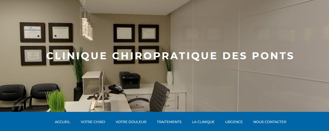 Clinique Chiropratique des Ponts en Ligne