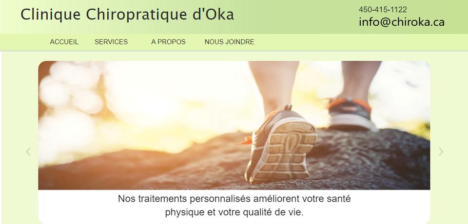 Clinique Chiropratique d'Oka en Ligne