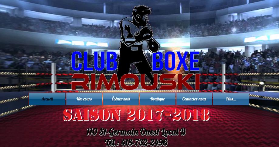 Club de Boxe Rimouski en Ligne