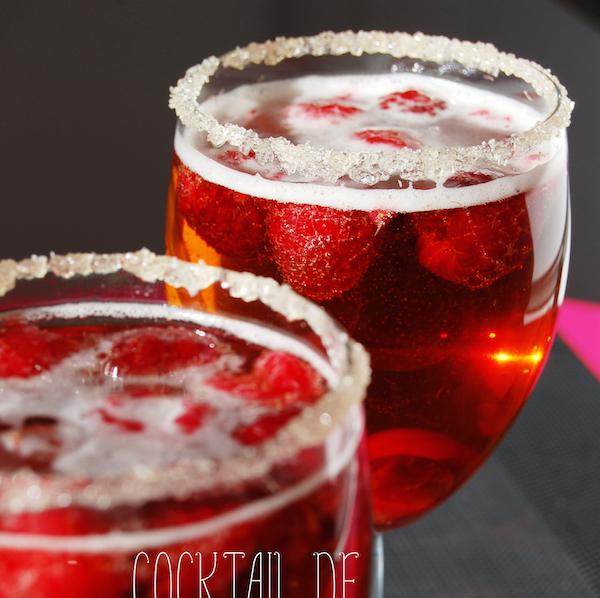 Cocktail de St Valentin
