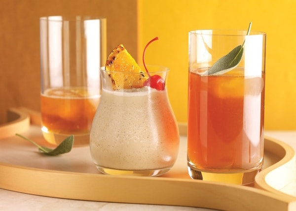 Cocktail Orange Colada