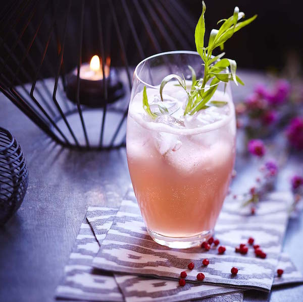 Cocktail Rosey Fizz