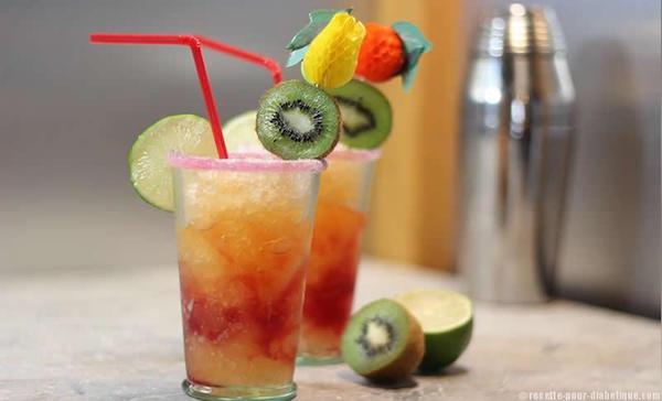 Cocktail Tropical sans Sucres