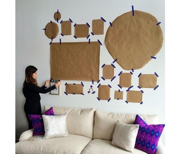Comment Bien Disposer ses Tableaux sur les Murs ?