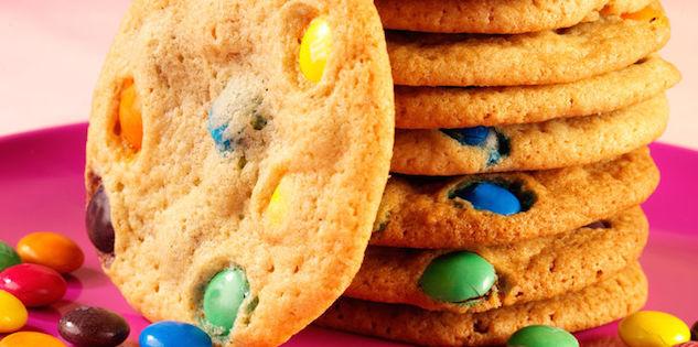 Photo Recette Cookies aux M&M's
