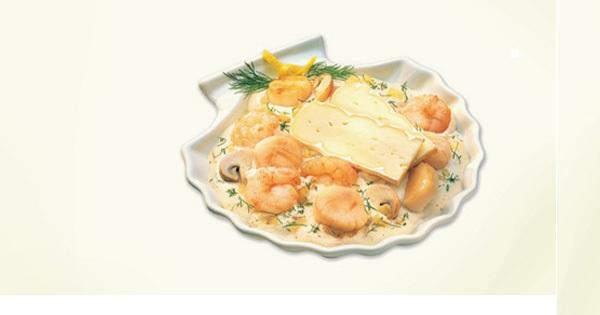 Photo Recette Coquille du Pêcheur à la Pâte Molle Allégro