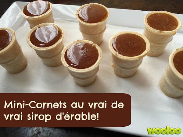 Photo Recette Cornets à la Tire D'érable