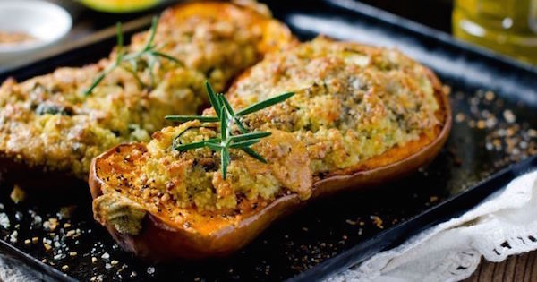 Courge Farcie au Fromage