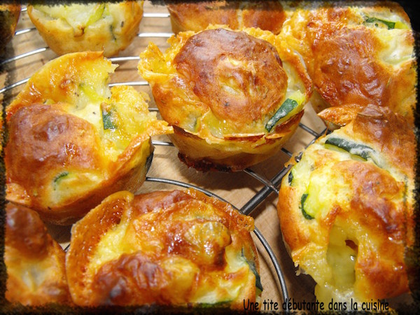 Photo Recette Muffins Courgettes et Langres (fromage)