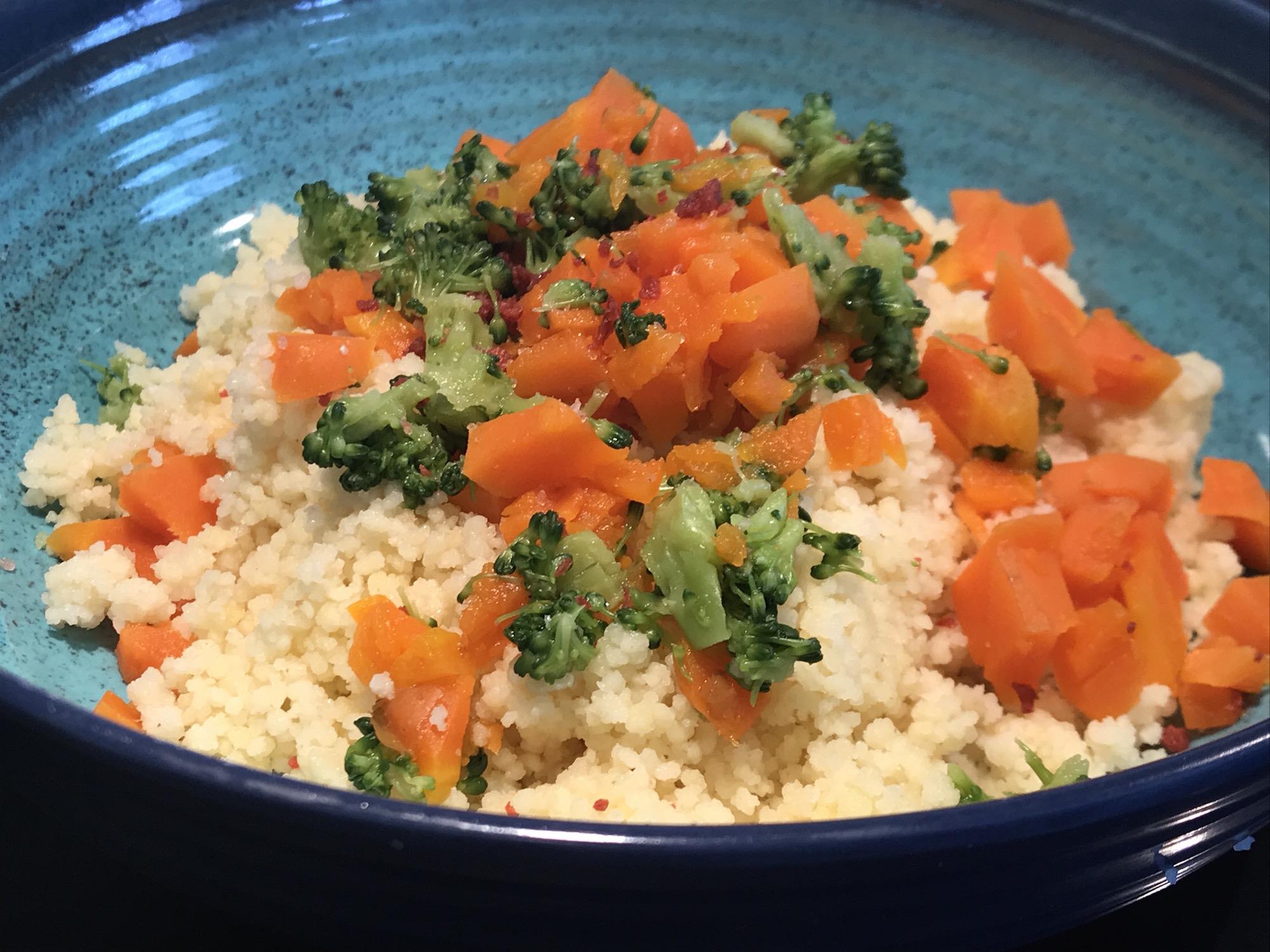Photo Recette Couscous aux Légumes Cuit Vapeur