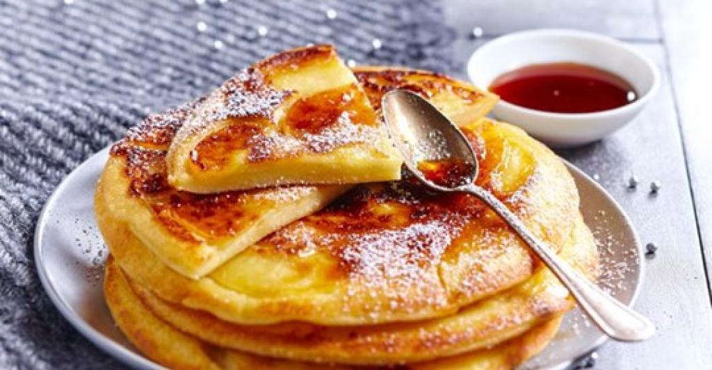 Photo Recette Crêpes Épaisses aux Pommes et au Caramel