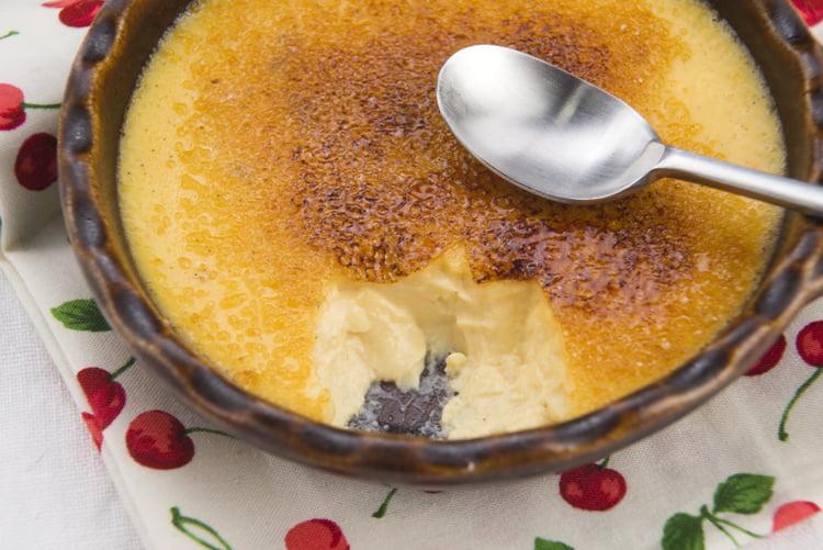 Photo Recette Crème Brûlée