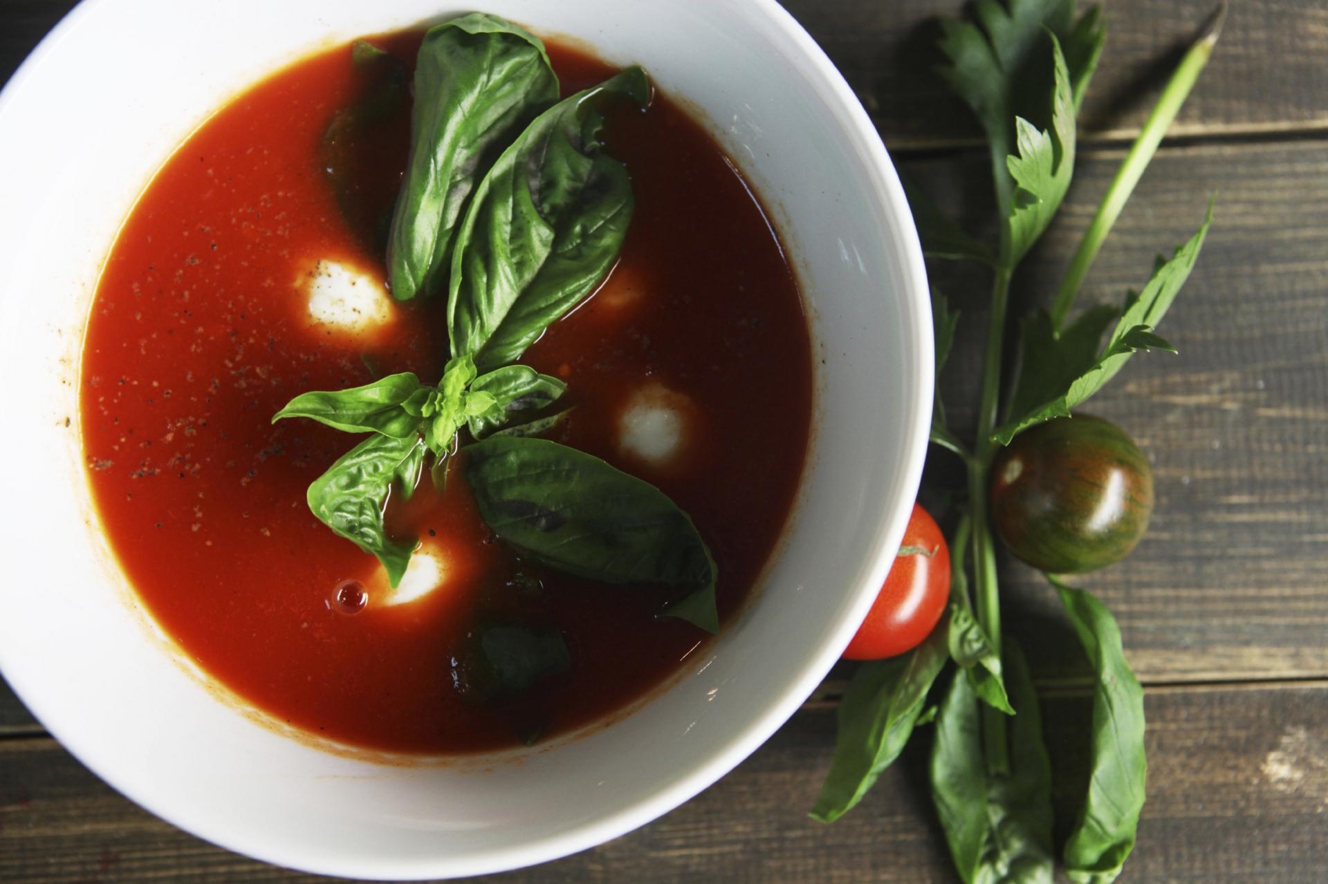 Photo Recette Crème de Tomates avec Allégro 4% Herbes et Épices