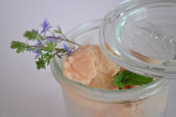 Crème Glacée aux Pêches de Vigne 1