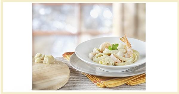 Crevettes Alfredo