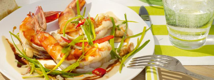 Crevettes Géantes Grillées