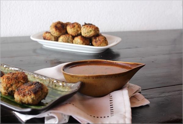 Croquettes de Poulet et Parmesan Sauce BBQ Maison 1
