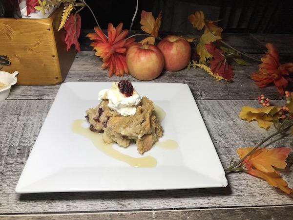 Croustade aux Pommes-Canneberges Sirop d'érable et Chocolat Blanc 4