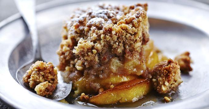 Crumble aux Pommes et Crème de Marron Fait Maison