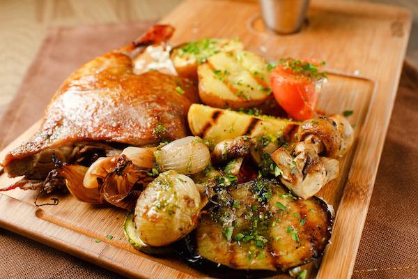 Cuisses de Canard en Cocotte aux Légumes D'hiver