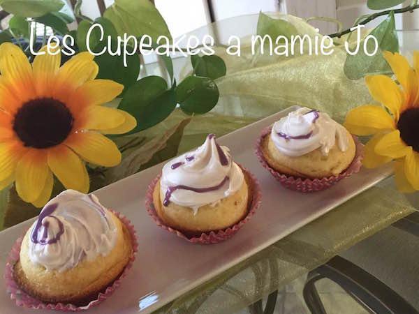 Cupcakes à Mamie Jo