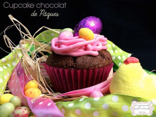Cupcakes Chocolat de Pâques Glaçage Mascarpone