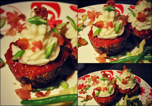 Photo Recette Cupcakes de Pain de Viande et Purée de Pommes de Terre