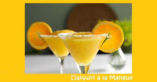 Photo Recette Daiquiri à la Mangue