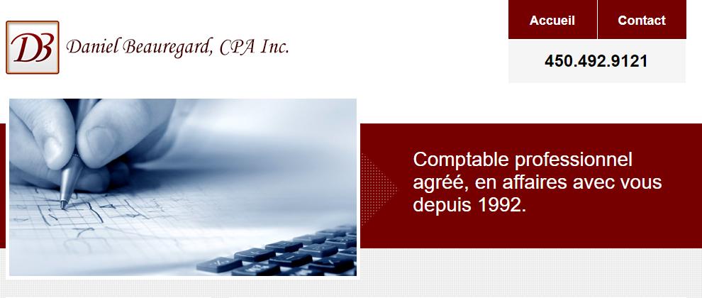 Daniel Beauregard, CPA Inc. en Ligne