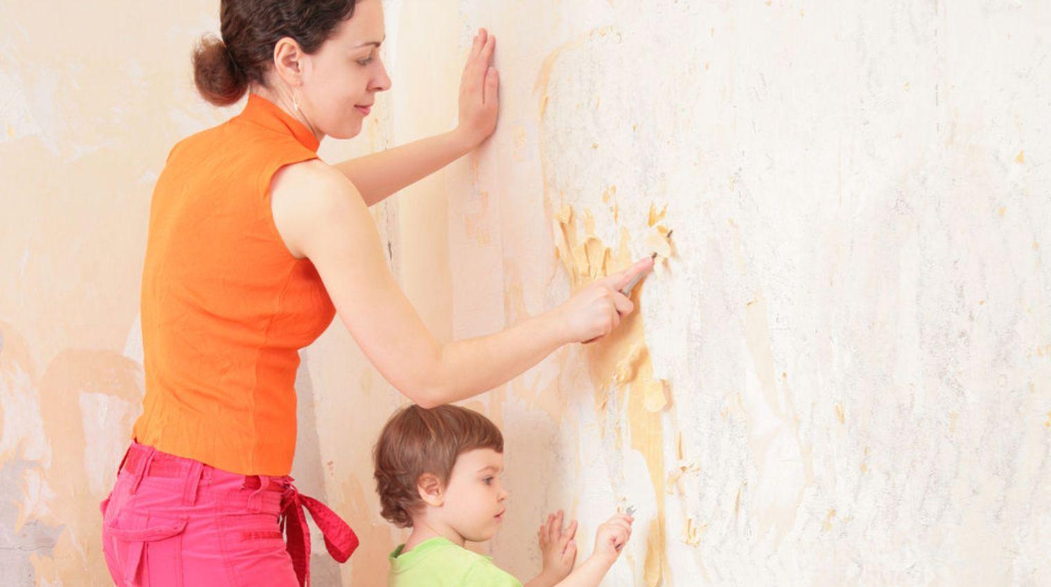 3 méthodes faciles pour Décoller du Papier Peint
