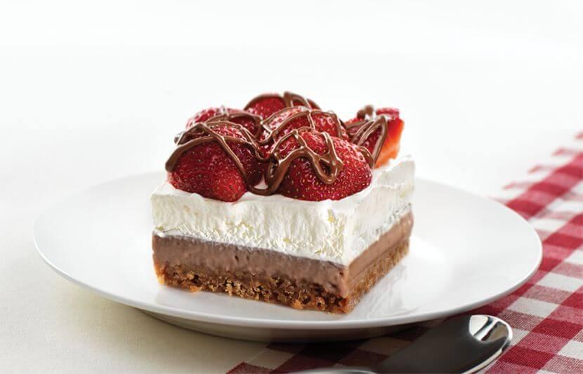Photo Recette Dessert Estival Au Chocolat Et Aux Fraises